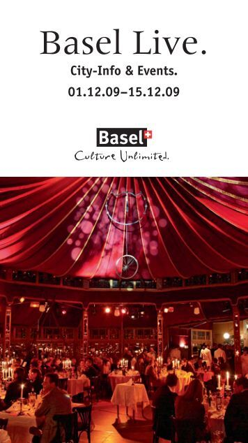 Sonntag, 13. 12. 2009 Festival of Bluegrass ... - Basel Live