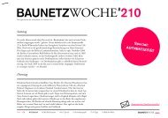 BauNetzWoche #210 – Authentizität
