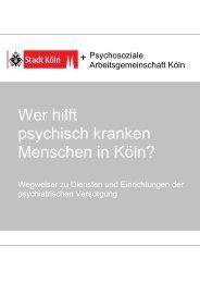 Hilfen für psychisch kranke