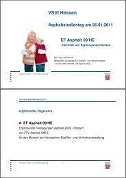 EF Asphalt 09/HE - des VSVI-Hessen