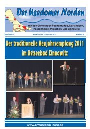 Der Usedomer Norden - Amt Usedom-Nord
