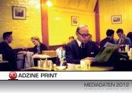 ADZINE PRINT - ADZINE, das Magazin für Online Marketing