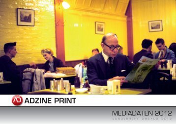 ADZINE PRINT - ADZINE, das Magazin für Online Marketing