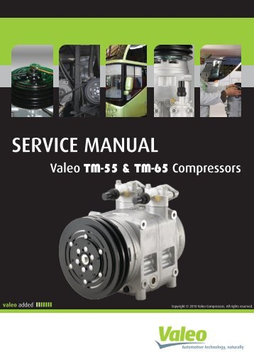SERVICE MANUAL - Valeo Compressors