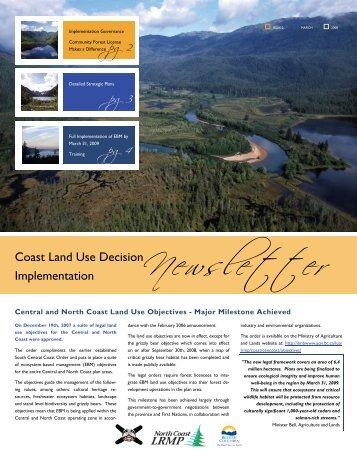 Implementation Governance - Integrated Land Management Bureau