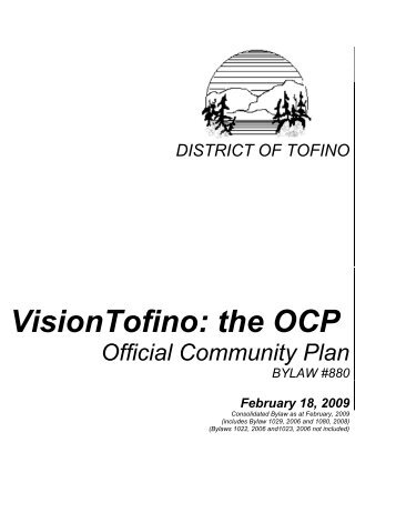 VisionTofino: the OCP - Focus Projects