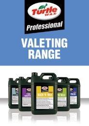 Professional Valeting Range - Turtle Wax