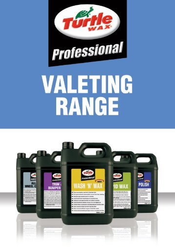 Professional Valeting Range - Turtle Wax