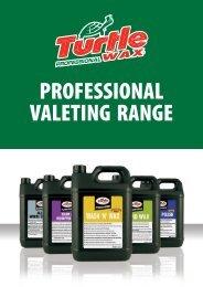 professional valeting range