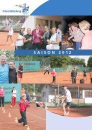 SaiSon 2012 - TSV-Adelberg-Oberberken