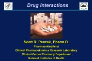 Antipsychotics in the Pipeline - National Institutes of Health