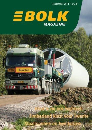 Bolk Magazine september 2011 nr 24 - Bolk Transport