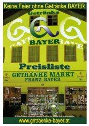 Alle Artikel - Getränke Bayer