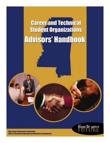 Career and Technical Student Organizations Advisors' Handbook