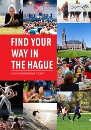 find your way in the hague - ISS