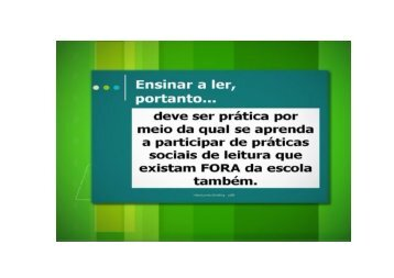 Microsoft PowerPoint - Ensinar a ler [Somente leitura]
