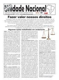 Fazer valer nossos direitos - Sindipetro Caxias