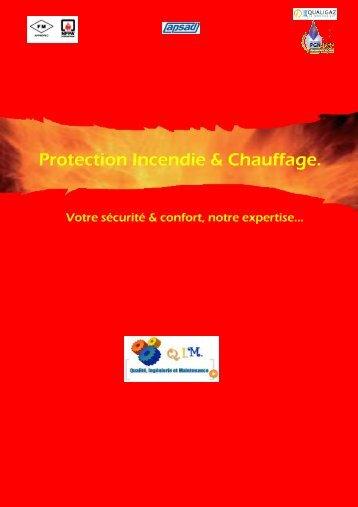 Plaquette de présentation - QIM Protection - Securite - incendie
