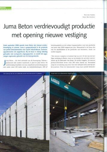 Jurna Beton verdrievoudigt productie - Valeres