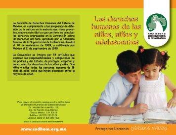 Los derechos humanos de las niñas, niños y ... - codhem