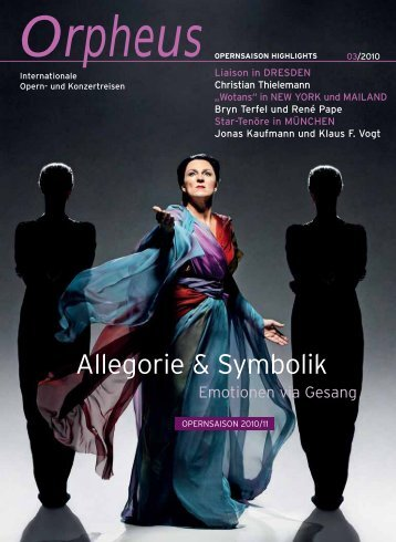 Arr.# 04 - Orpheus - internationale Opern
