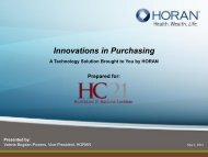 Innovations in Purchasing