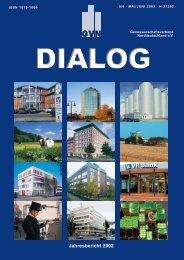 Jahresbericht 2002 - Genossenschaftsverband eV