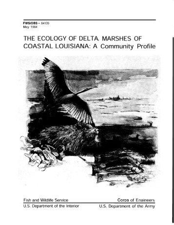 The ecology of delta marshes of coastal Louisiana - USGS National ...