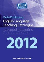 English Language Teaching Catalogue - Delta Publishing