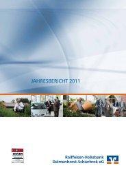 JAHRESBERICHT 2011 - Volksbank eG Delmenhorst Schierbrok