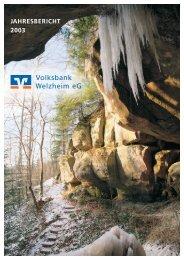 VB-Bericht 03 - Volksbank Welzheim eG