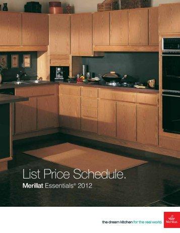 Essentials Price List