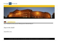 GERMANY 2012 Institutional Investment Management Market ...