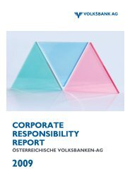 download Corporate Responsibility Report - Volksbank AG