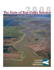 State of the Science for the Bay Delta System: Summary - CALFED ...