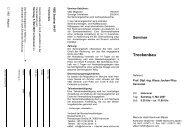 Seminar Trockenbau - VBD