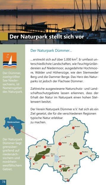 Der Naturpark stellt sich vor - Naturschutzring Dümmer