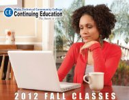 The Future Is Yours - Continuing Education - Wake Technical ...