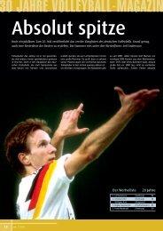 wertvollsten Spieler in 20 Jahren - Volleyball-Magazin