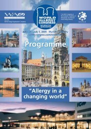 Free Communication - World Allergy Organization