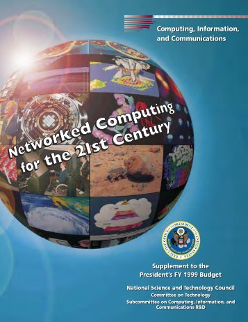 Computing, Information, and Communications Computing ... - nitrd