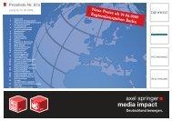 Neue Preise ab 01.06.2009 Regionalausgaben Berlin