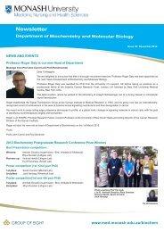 Newsletter - Monash University