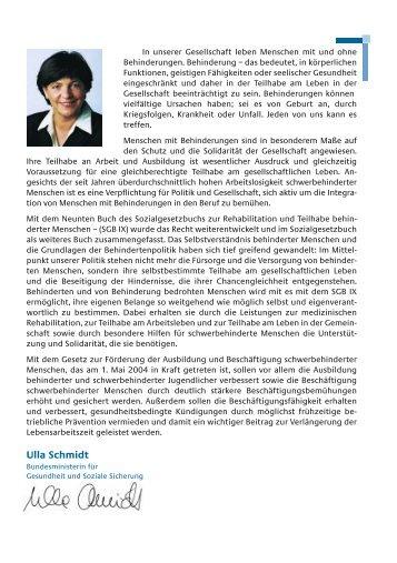 Ratgeber für behinderte Menschen - Schwerbehindertenvertretung ...