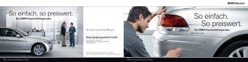 Unser Angebot für die BMW Kunststoffreparatur. (PDF, 519