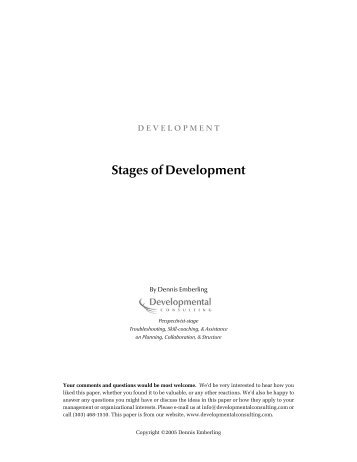 O:\2. Developmental Stages\Stages of Development vB.wpd