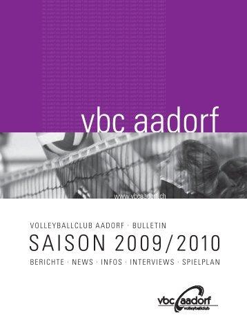 Bulletin_2009_2010 [PDF, 4.00 MB] - VBC Aadorf