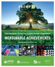 VECAP progress report 2009