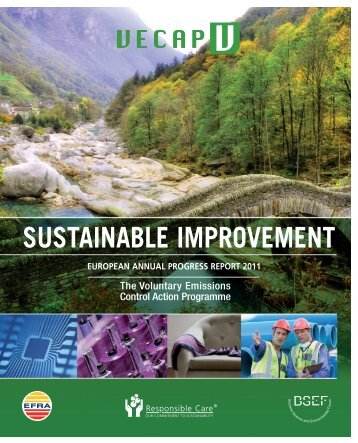 european annual progress report 2011 sustainable ... - VECAP