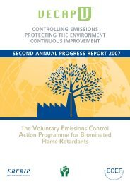 2006-2007 Results and Developments - VECAP
